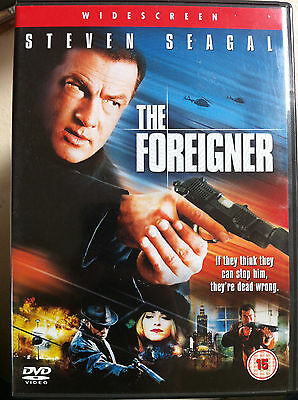 The Foreigner DVD 2003 Martial Arts Action Film Movie starring Steven Seagal