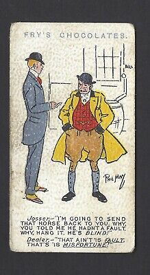 """Fry - Phil May Sketches - Josser, """"I'm Going To Send That Horse Back To You"""""""