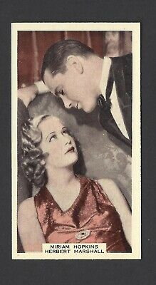 Wix (A & M) - Film Favourites, 3Rd - #63 Miriam Hopkins And Herbert Marshall