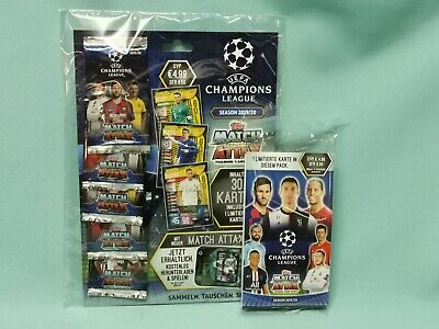 Topps Match Attax Champions League 2019/2020 1 x Multipack + 1 x Blister 19/20