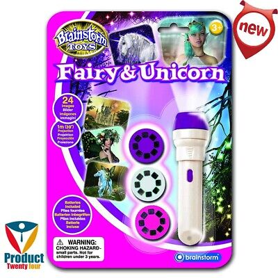 Girls' unicorn fairy torch Projector gift toy Fun children play/learn game Kids'