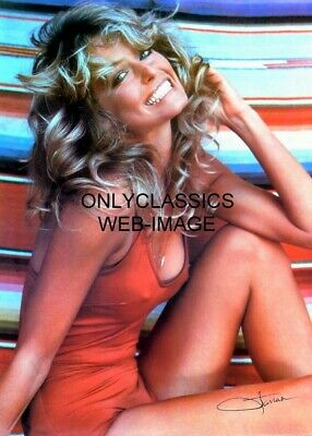 Farrah Fawcett Famous Iconic Swimsuit Poster American Beauty Pinup Cheesecake