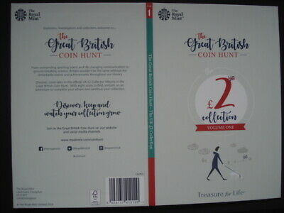 Royal Mint The Great British Coin Hunt £2 Volume 1 Collector Album Folder NEW.