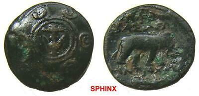 483RC9X) SELEUKID KINGS of SYRIA. Antiochos I Soter. 281-261 BC. Æ (19 mm, 4.43