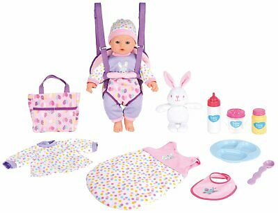 Chad Valley Babies to Love 16 Inch Baby Travelling Stunt Set 2+ Years