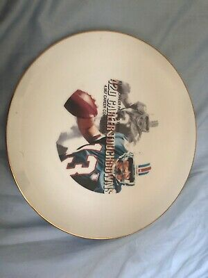 NFL #13 420 Career Touchdowns Commemoration Antique China Plate.