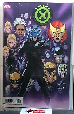 Powers Of X #4 1st Print Main Cover Hickman NM