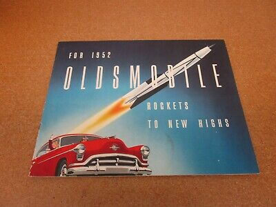 1954 Oldsmobile BIG Car Sales Brochure Catalog Super 88 Ninety-Eight 98 Starfire