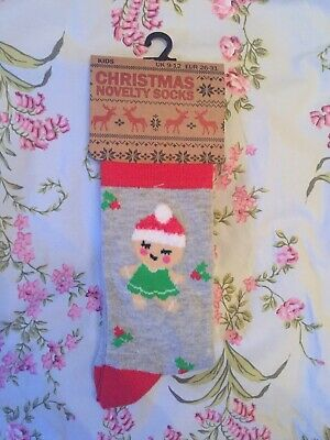 Cotton Rich Cheistmas Socks. Size 9-12 Infant. New.