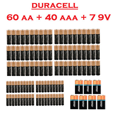 (60 Pack) Duracell AA 1.5v Alkaline CopperTop Batteries (Exp 2024)