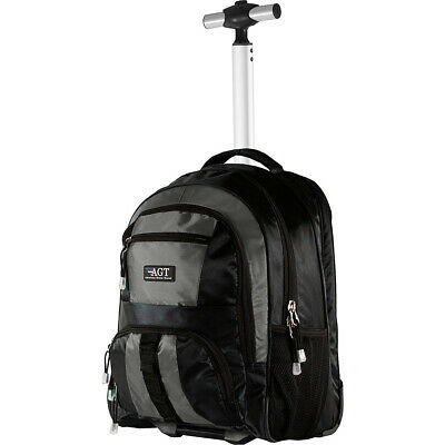 American Green Travel Cruiser Rolling Carry-On Backpack Rolling Backpack NEW