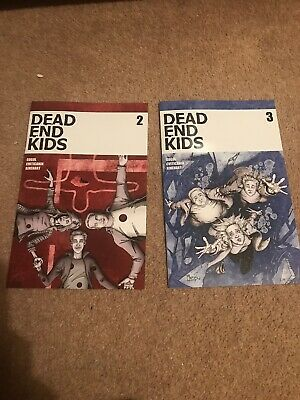❌Dead End Kids #2&3 FIRST print!! Source Point Press NM