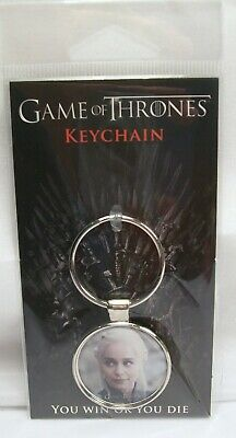 Rare Licensed Game Of Thrones Daenerys Targaryen Collectors Keychain / Keyring!