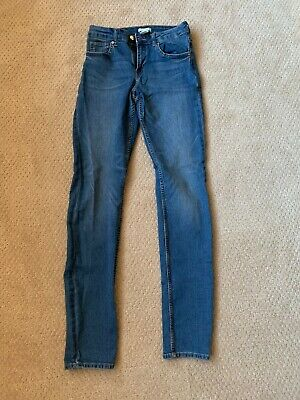 NEW H&M Size 4 Womens Blue Jeans Stretchy Comfortable NEVER WORN