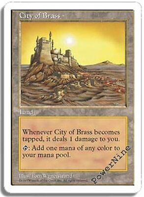1 City of Brass - Land Fifth 5th Edition Mtg Magic Rare 1x x1