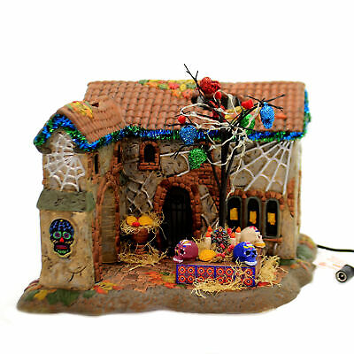 Department 56 House DAY OF THE DEAD HOUSE Ceramic Halloween 6003161