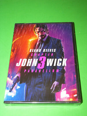John Wick: Chapter 3 Parabellum Brand New Sealed DVD Keanu Reeves Halle Berry