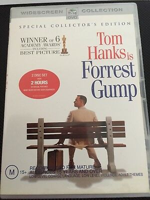 Forrest Gump -  TOM HANKS - 2 Disc Special Edition DVD - PAL  R4 - LIKE NEW