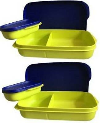 Tupperware My Lunch 2 Containers Lunch Box  (590 ml)