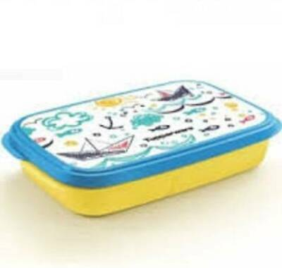 Tupperware My Lunch Art 2 Containers Lunch Box  (590 ml)