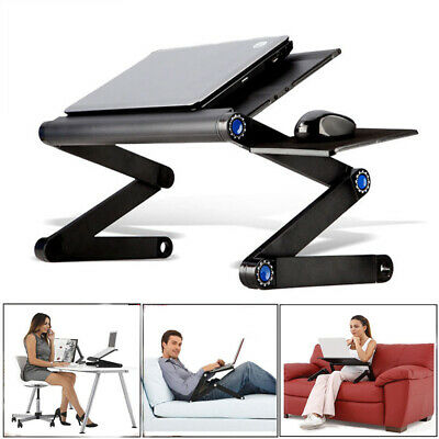 Table de Lit Ordinateur Portable Pliable multi-fonction pour Bureau Tablette PC