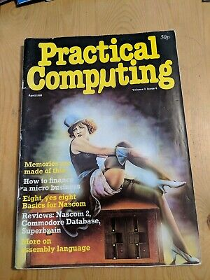 1980 Practical Computing Computer Magazine 168 Pages