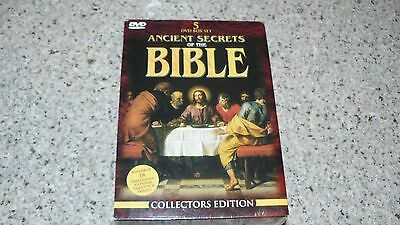 NEW Ancient Secrets of the Bible Collection DVD, 2000 5 Disc Box Set Collectors