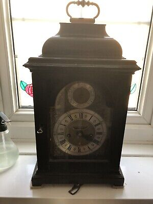 Good 18th Century Double Fusee Ebonised Bracket Clock With Strike Silent Feature