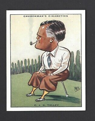 Churchman - Prominent Golfers (Large) - #8 C J H Tolley