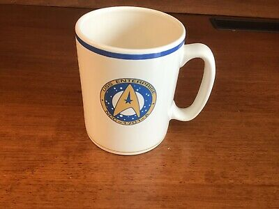 Pfaltzgraff USS Enterprise NCC - 1701 - A 1993 Coffee Mug Star Trek