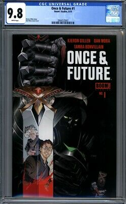 Once & Future #1  Boom! Studios  Sold Out 1st Print CGC 9.8