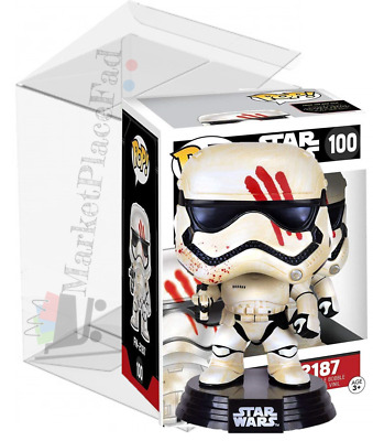 Funko POP! Star Wars - #100 FN-2187 Finn - Vaulted/Retired - W/Protector