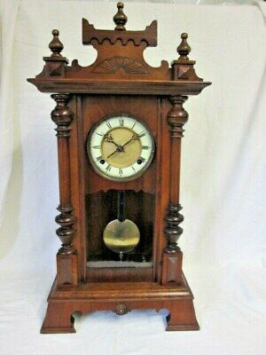 A Victorian  Mahogany Chiming Shelf/Wall Clock ( maybe a HAC or Junghans)