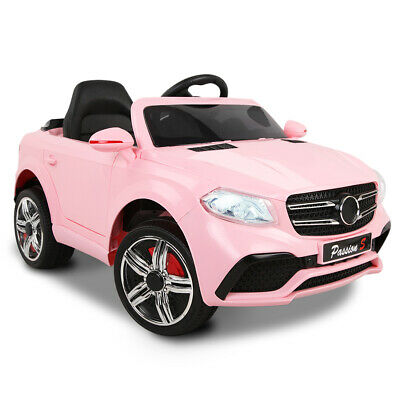 RIGO Kids Ride On Car Electric Pink Toy Battery 12V Remote Control Children