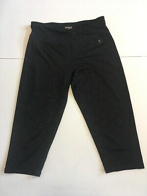 Danskin Now Girls Child Yoga Capri Fitted Pants Athletic Size Large 10-12 (Y-23)