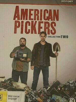 American Pickers Collection Two DVD Brand New