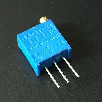 10PCS 5K 3296W 502 Trim Pot Trimmer Potentiometer USA Fast Shipping