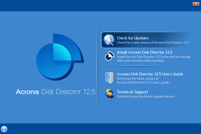 ✔ Acronis Disk Director 2019 - Version 12.5 ✔ Lifetime License ✔ 5 PC ✔ Download