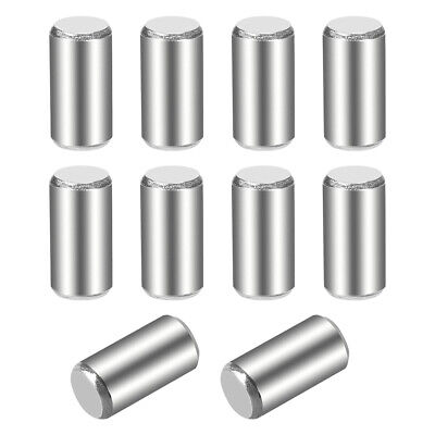 10Pcs 5mm x 10mm Dowel Pin 304 Stainless Steel Shelf Support Pin Fasten