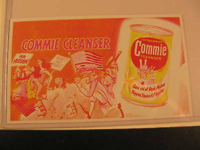 1969 Topps Wacky Packages Ads Proof Card Commie