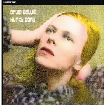 DAVID BOWIE Hunky Dory LP VINYL 11 Track Gold Vinyl Reissue With Insert (db697