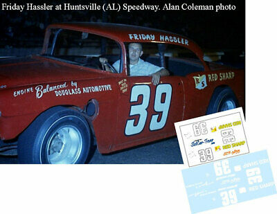CD/_564 #4 Rex White  1960 Chevy  1:64 scale DECALS