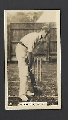 Wills (Nz) - English Cricketers - #8 F E Woolley, Kent