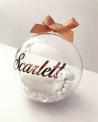 Babies Hands & Feet Casting Kit / Bauble Display