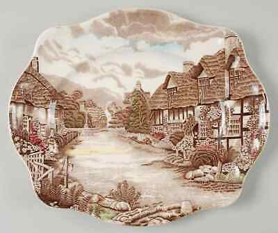 "Johnson Brothers OLDE ENGLISH COUNTRYSIDE 12"" Oval Serving Platter 281779"