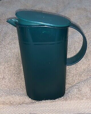Tupperware Impressions Small 500ml 16 Ounce Dark Green PITCHER  #3535A