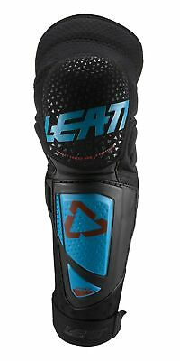 Leatt 3DF Hybrid EXT Knee and Shin Guards Fuel/Black