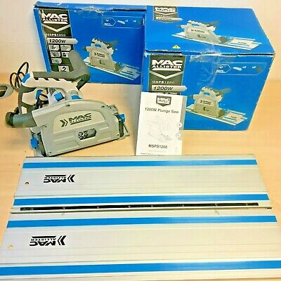 Mac Allister Msps1200 165Mm Electric Plunge Saw 220-240V *Boxed*