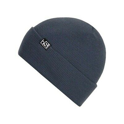 BlackStrap Essential Flip Tag Acrylic Beanie Merrill New