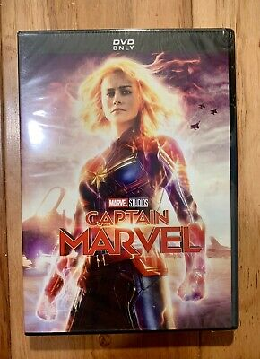 Marvel: Captain Marvel DVD (2019) **GREAT DEAL** **FREE SHIPPING**
